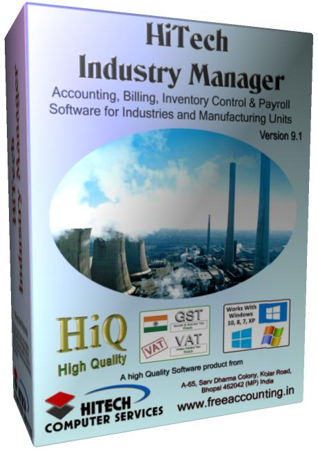 Accounting software for industry 1